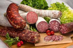 We might eat salami, like 4 times a week. Genoa, Calabrese I LOVE Salami!! Ok done.