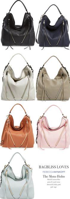 Everyday Chic Handbag: Rebecca Minkoff Moto Hobo Bag