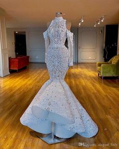 May 2020 - Luxurious 2020 Real Images South African Dubai Mermaid Wedding Dresses Beaded Crystals Bridal Dresses Long Sleeves Wedding Gowns Prom Girl Dresses, Prom Outfits, Sexy Wedding Dresses, Mermaid Dresses, Bridal Dresses, Maxi Dresses, African Wedding Dress, Luxury Wedding Dress, Gown Dress