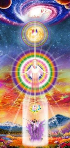 Best way to show what Astral Projection is like. Cosmic Consciousness, Ascended Masters, Astral Projection, Visionary Art, Sacred Art, Love And Light, Sacred Geometry, Mother Earth, Reiki