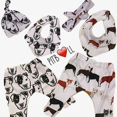 These adorable white pants feature perfect Pit Bulls in different colors. This fabric was designed by myself and EXCLUSIVE to my shop. It is a must have for any