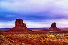 """An Iconic View """"The Mittens"""" from The View Hotel in the Navajo National Tribal Park"""