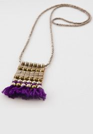 Tasseled Ladder Necklace  by Noonday Collection made with love in Ethiopia