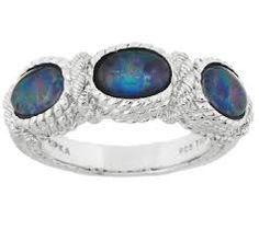 J297021 Opal triplet ring