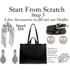 A fashion look from December 2014 featuring Zara handbags, Accessorize earrings e Fantasy Jewelry Box rings. Browse and shop related looks. Core Wardrobe, Build A Wardrobe, Wardrobe Basics, Capsule Wardrobe, Capsule Outfits, Wardrobe Ideas, Leather Handbags, Fashion Capsule, Accessories