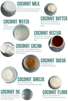 coconut.... everything.