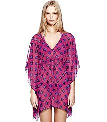 MUSTIQUE CAFTAN. So cute with matching swimsuit!