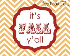 Happy Fall Chevron Print by Two Tweny One, featured at printabledecor.net #fall #crafts #chevron #freePrintable