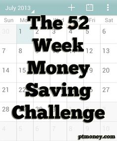 Do You Have What it Takes to Complete the 52 Week Money Saving Challenge?