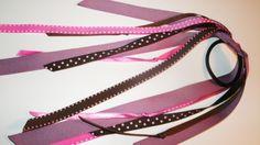 pink & purple polka dot!  free shipping