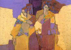 "Mary Carlton - ""In an Azure Mood"" - 30x40 - Oil"
