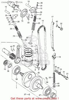 22 Best 73 xl175 images | Honda, Drum parts, Electrical symbols Xl Wiring Diagram on cb550 wiring, cb750 wiring, xl75 wiring,