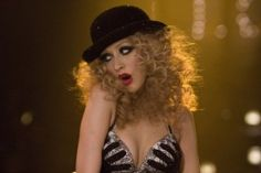 Burlesque.. finally saw this movie! obsessed with it. I feel in love with Christina all over again. Girl crush.
