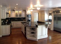 http://www.bebarang.com/more-challenging-with-custom-kitchen-designs/ More Challenging With Custom Kitchen Designs : Custom Kitchen Cabinets Style Custom Kitchen Designs