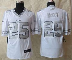 Nike Bills LeSean McCoy White Men s Stitched NFL Limited Platinum Jersey  And Cowboys Dak Prescott 4 jersey 90f187da0