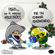 """#ElCartonDelDia para @interceptado """"REGALO INESPERADO"""" #Cowboys @Cowboys #Eagles @Eagles #TNF #NFL"""