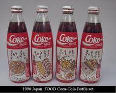Image result for coca cola bottle in japan