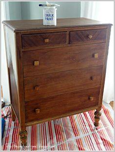 Gypsy dresser before!