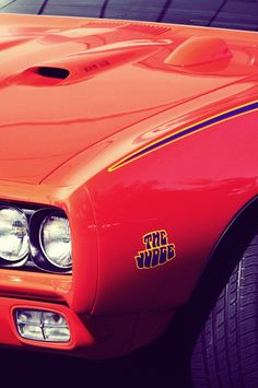 "1969 Pontiac GTO ""The Judge"""