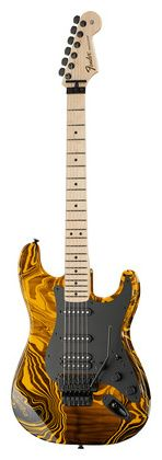 Fender Stratocaster Yellow Swirl FSR #Thomann
