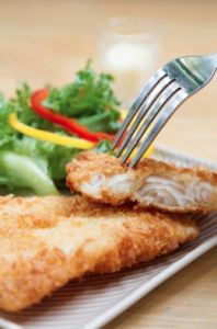 SEAFOOD- (use Cod) Homemade Fish Sticks