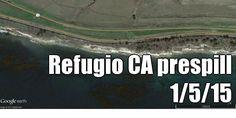 Refugio CA  prespill 1/5/15 (courtesy of @Pinstamatic http://pinstamatic.com)