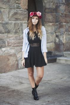 fall teen fashion that look amazing. Edgy Teen Fashion, Autumn Fashion For Teens, Summer Fashion Outfits, Edgy Outfits, Holiday Fashion, I Love Fashion, Passion For Fashion, Fashion Tips, Fashion Design