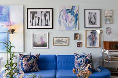 House Tour: A Colorful Vintage Charleston Apartment | Apartment Therapy