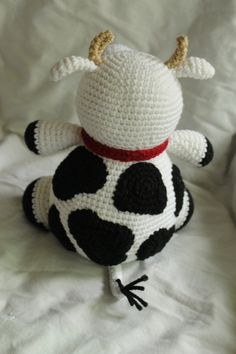 Charlie the Cow - Amigurumi Plush Crochet PATTERN ONLY (PDF)