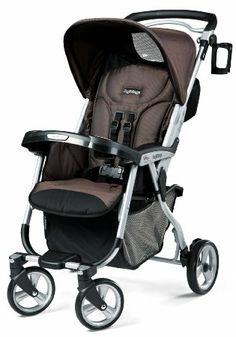 Amazon.com: Peg Perego Vela Easy Drive Stroller, Newmoon: Baby