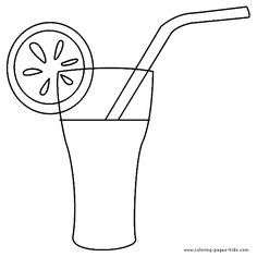 free margarita coloring pages - photo#16