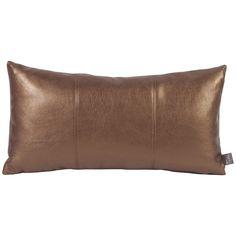 Howard Elliott Shimmer Bronze Kidney Pillow 4-294