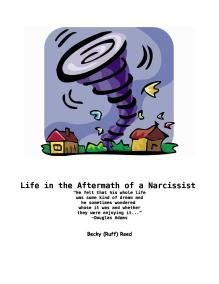 The Book, Life in the Aftermath of a Narcissist....Freebie