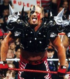 "In Memory Of  Michael James Hegstrand  ""Road Warrior Hawk""  September 12th 1957 – October 19th 2003"