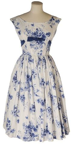 1957 I have made a replica of this dress for a 1950's birthday party.  I had one just like it when in my teens