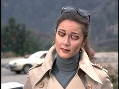 Trench Coat Spy Queen Lynda Carter's Alien Doppelganger didn't research her disguise enough...