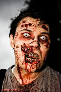 Zombie makeup! WOW!!!