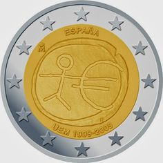 2 Euro Commemorative Coin Spain 2009, Ten years of Economic and Monetary Union and the birth of the euro