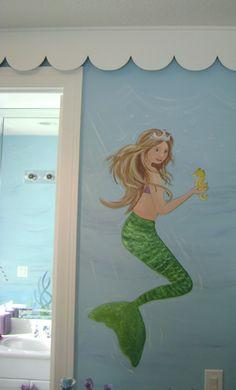Coral Reef Mural - Children's mural,Mural,Kids Mural,Children's ...