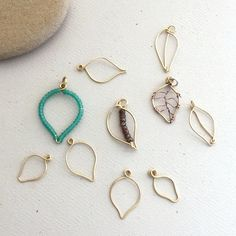 Lisa Yang's Jewelry Blog: Making Wire Leaves