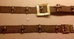 Eric of Pomerania's Belt see Nesat X Medieval Belt, Medieval Life, Medieval Costume, Medieval Clothing, Men's Clothing, Historical Costume, Historical Clothing, Tablet Weaving, Woven Belt