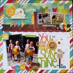Skrapaddict's Gallery: Simple Stories Good Day Sunshine Layout