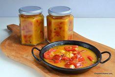 Gogoșari în sos de muștar rețeta simplă pentru iarnă   Savori Urbane Turmeric, Pickles, Curry, Canning, Ethnic Recipes, Food, Kitchens, Salads, Curries