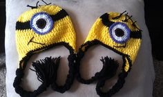 Hat for minion costume - if only I knew how to make these!