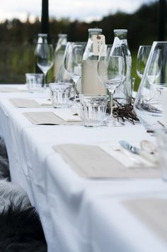 A dinner in the fields /