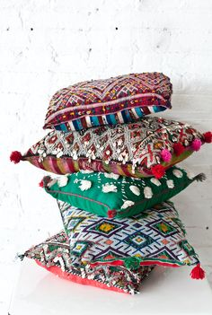 Moroccan Pillows | P