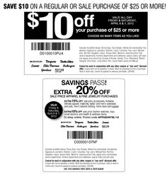 $10 off $25 also 20% off sale apparel at Carsons & sister stores, online via checkout promo APR2DAYSL12