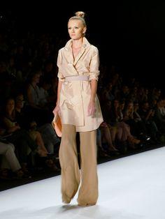 Model at Irina Schrotter Spring/Summer 2013 - Mercedes Benz Fashion Week - http://olschis-world.de/  #IrinaSchrotter #Womenswear #Fashion