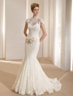 2014 - 2015 Wedding Dress Trends - Lace Sleeves 4