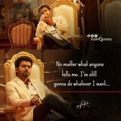 Motivational Quotes Wallpaper, Wallpaper Quotes, Filmy Quotes, Movie Love Quotes, Actor Quotes, Vijay Actor, Movie Dialogues, Brother Quotes, Actors Images
